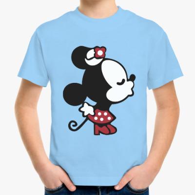 Детская футболка Мышиная любовь