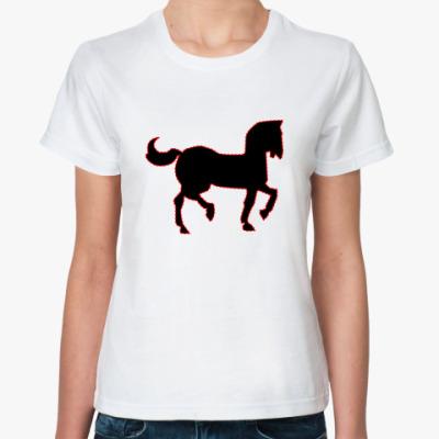 Классическая футболка  RF Конь