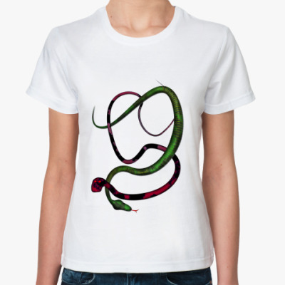 Классическая футболка Змеи