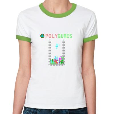 Женская футболка Ringer-T Polygures