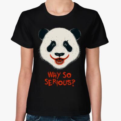 Женская футболка Панда Джокер