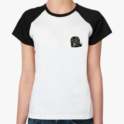 Женская футболка реглан Жук