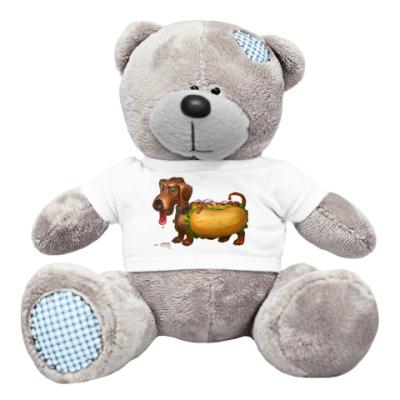 Плюшевый мишка Тедди 'Hot-Dog'