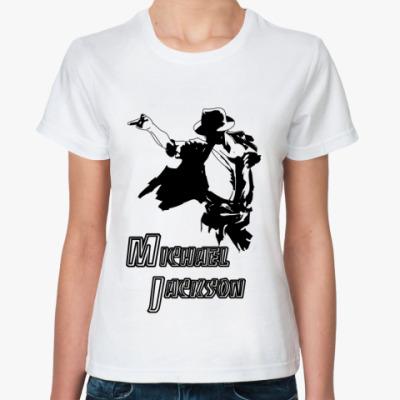 Классическая футболка 'М.Джексон'