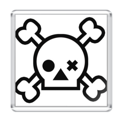 Магнит Skull