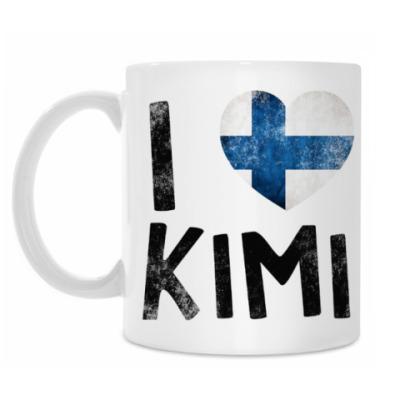 Кружка I LOVE KIMI