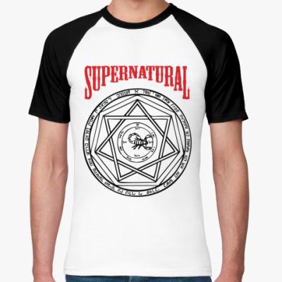 Футболка реглан Devil's Trap - Supernatural