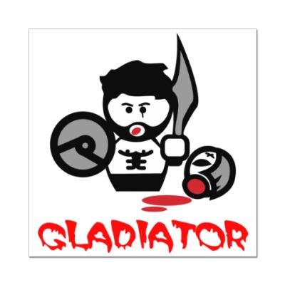 Наклейка (стикер) Гладиатор
