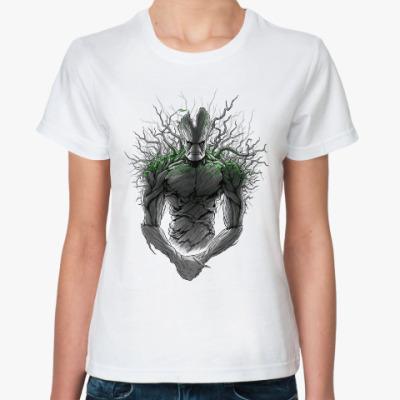 Классическая футболка Я есть Грут!
