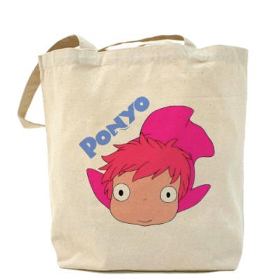 Сумка Ponyo #1 Холщовая сумка