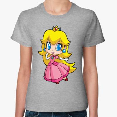 Женская футболка Super Mario Princess