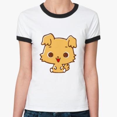 Женская футболка Ringer-T Chibimaru