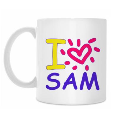 Кружка Supernatural - I love Sam