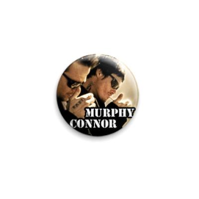 Значок 25мм  Murphy/Connor (SLA31)