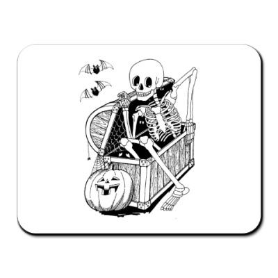 Коврик для мыши Скелет