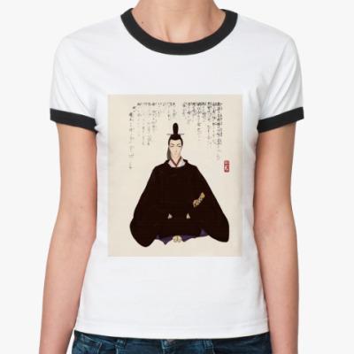 Женская футболка Ringer-T   'Япония'