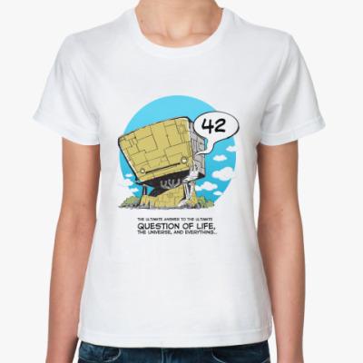 Классическая футболка 42