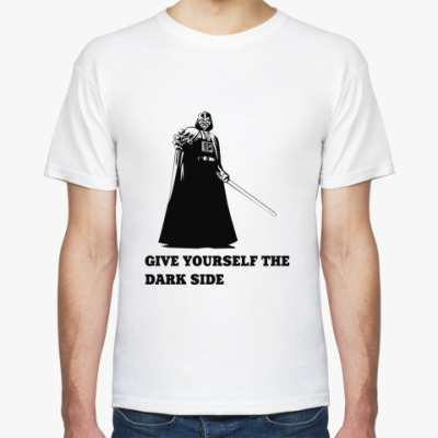 Футболка Give yourself to the Dark Side