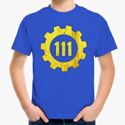Детская футболка Убежище 111