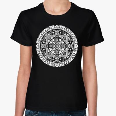 Женская футболка Красивый орнаментальный дизайн