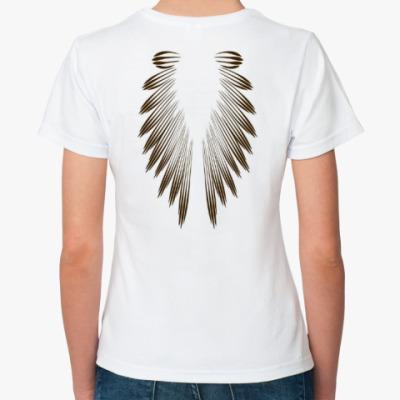 Классическая футболка Крылья.