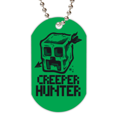 Жетон dog-tag  Creeper hunter