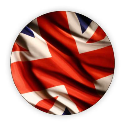 Костер (подставка под кружку) Британский флаг