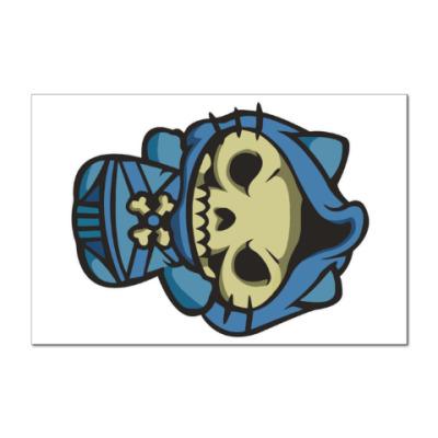 Наклейка (стикер) Kitty Скелетор
