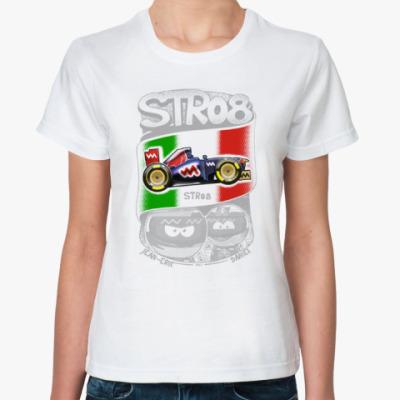 Классическая футболка STR08