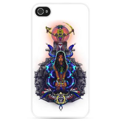 Чехол для iPhone Легенды майя