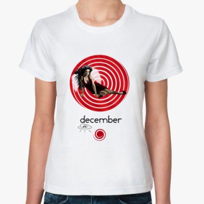 Классическая футболка December
