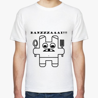 Футболка  BANZAI