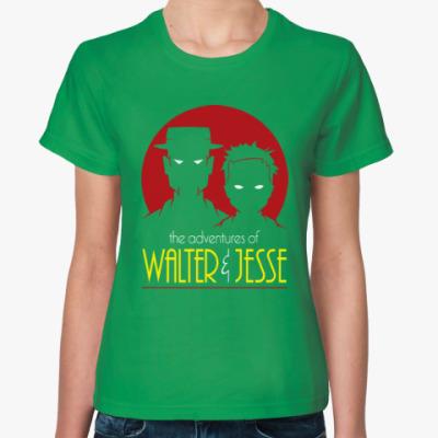 Женская футболка Уолтер и Джесси