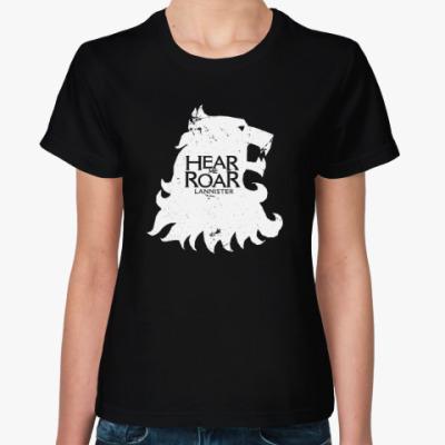 Женская футболка Lannister, Game Of Thrones