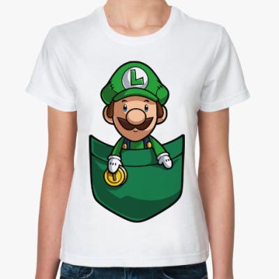Классическая футболка Луиджи