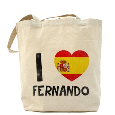 Сумка I LOVE FERNANDO