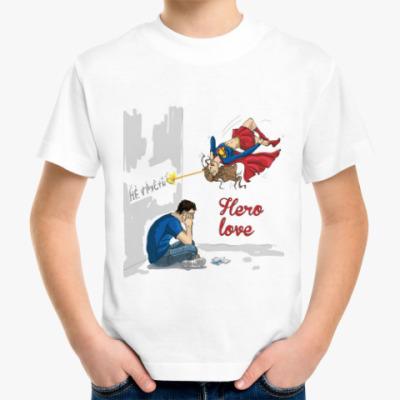 Детская футболка Hero-вая любовь
