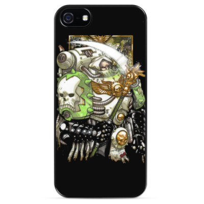 Чехол для iPhone Mortarion - Primarch of the  Death Guard Legion