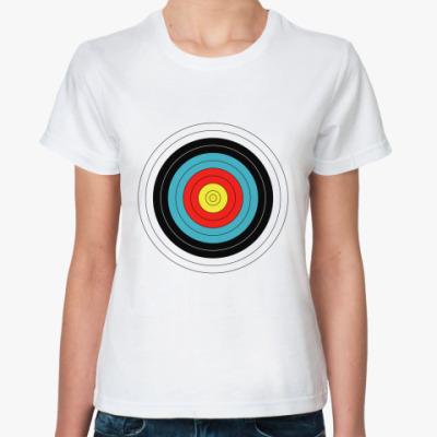 Классическая футболка Ходячая цель