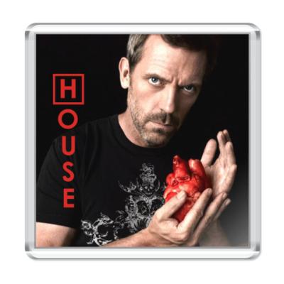 Магнит House heart