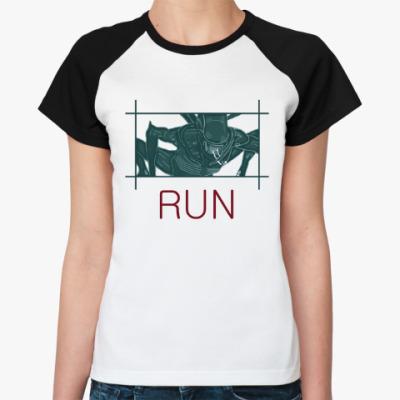 Женская футболка реглан Чужой.Завет