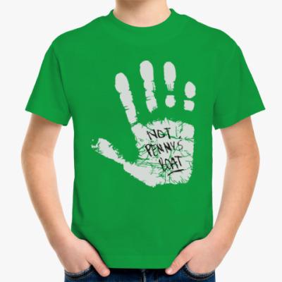 Детская футболка Это не лодка Пенни