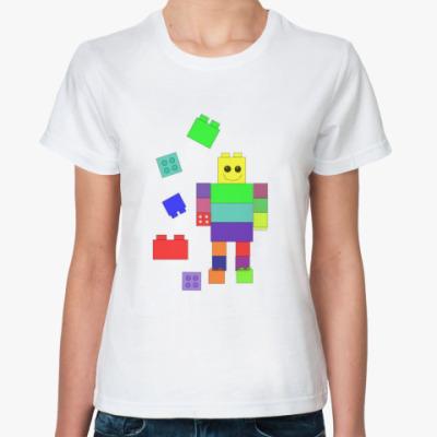 Классическая футболка  (жен.) Конструктор