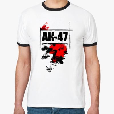 Футболка Ringer-T   АК-47