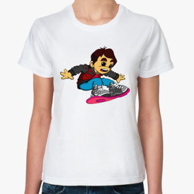 Классическая футболка Марти Макфлай