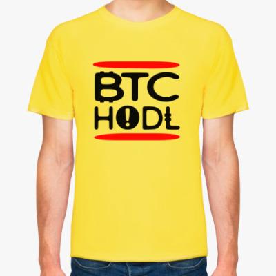 Футболка Bitcoin BTC HODL