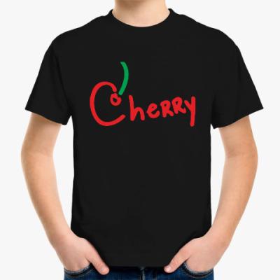 Детская футболка Вишенка