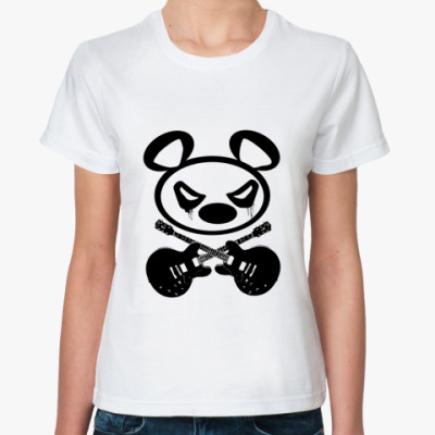 Классическая футболка  футболка  Panda