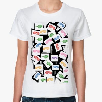 Классическая футболка shutter shades mix