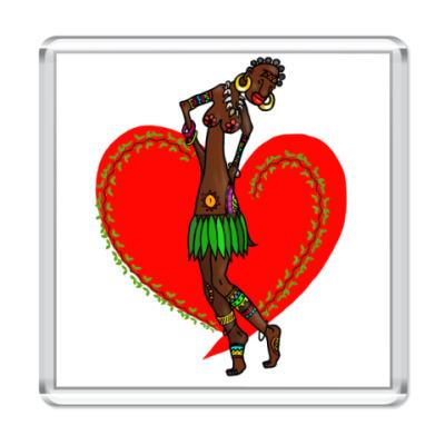 Магнит Шоколадная любовь